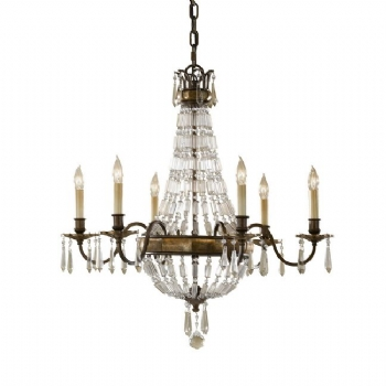 Elstead Lighting Feiss Bellini 6lt Chandelier