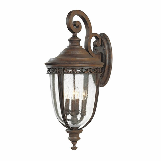 Elstead Feiss English Bridle X large wall lantern
