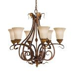Elstead Feiss Sonoma Valley 6 light chandelier FE/SONOMAVAL6