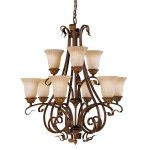 Elstead Feiss Sonoma Valley 9 light chandelier FE/SONOMAVAL9