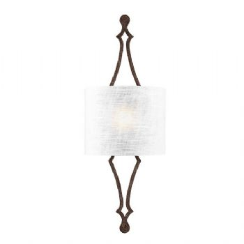 Elstead Feiss Tilling wall light iron FE/TILLING1 WI