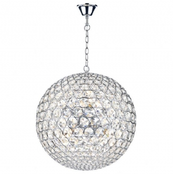 Dar Lighting Fiesta 8 light pendant FIE0850