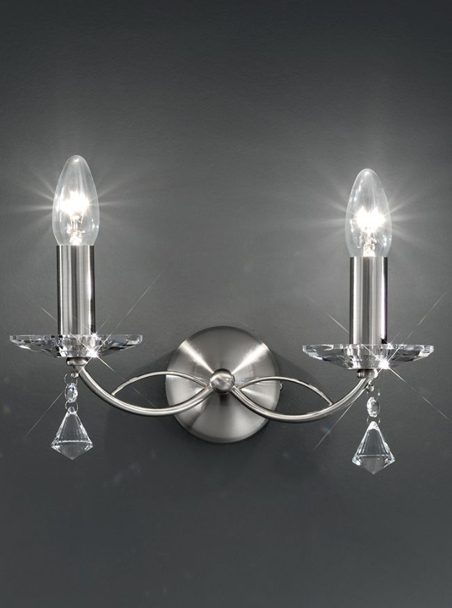 Franklite Monaco wall light FL2225/2 FL2228/2
