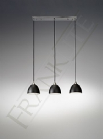 Franklite Vetross 3lt pendant bar FL2290/3/930
