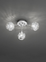 Franklite Protea 3 light flush FL2329/3