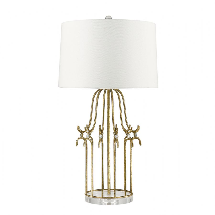 Elstead Gilded Nola Stella table lamp gold GN/STELLA/TL GD