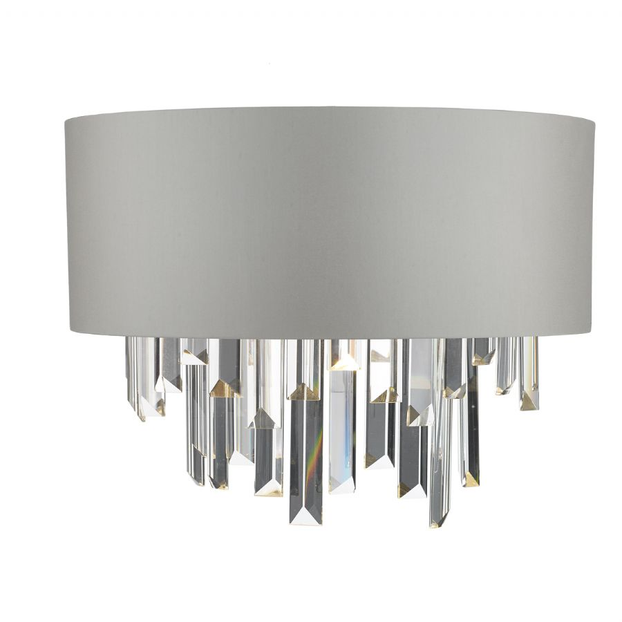 Dar Lighting Halle wall light HAL0939