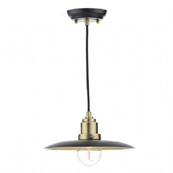 Dar Lighting Hannover 1 light pendant HAN0154