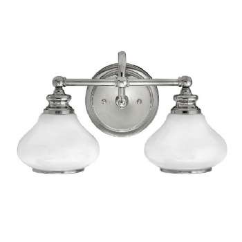 Elstead Hinkley Ainsley 2lt wall light HK/AINSLEY2 BATH