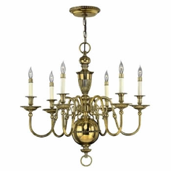 Elstead Hinkley Cambridge 6lt chandelier HK/CAMBRIDGE6