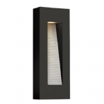 Elstead Hinkley Luna medium LED wall light HK/LUNA/M SK