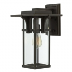 Elstead Hinkley Manhattan medium wall lantern HK/MANHATTAN2/M