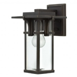 Elstead Hinkley Manhattan small wall lantern HK/MANHATTAN2/S
