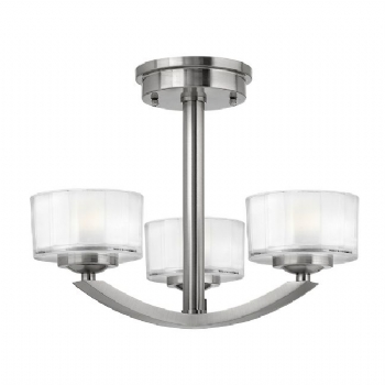 Elstead Hinkley Meridian semi flush HK/MeridianSF