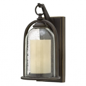 Elstead Hinkley Qunicy small wall lantern HK/QUINCY/S