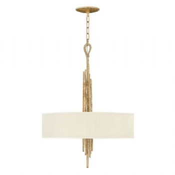 Elstead Hinkley Spyre 6 light pendant gold HK/SPYRE6P CPG