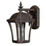 Elstead Hinkley Wabash small wall lantern HK/WABASH2/S