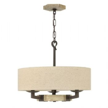 Elstead Hinkley Wyatt 3 light pendant HK/WYATT/3P