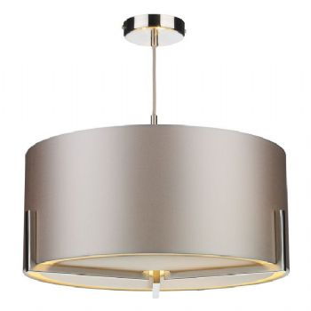 The Light Shade Studio Huxley pendant satin HUX0346