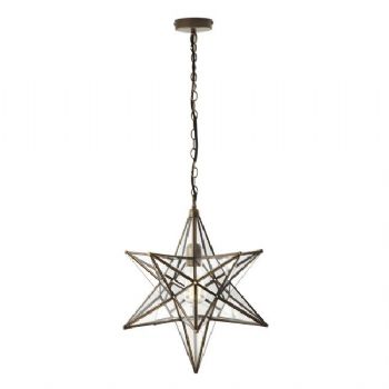 Dar Lighting Ilario large pendant ila8675