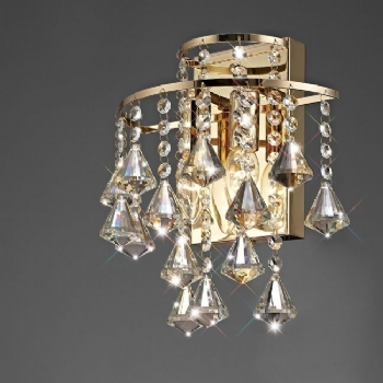 Diyas Inina wall light gold il32774