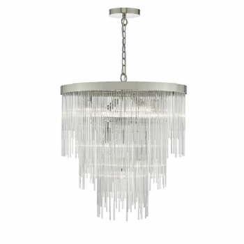 Dar Lighting Isla 7lt pendant ISL3450