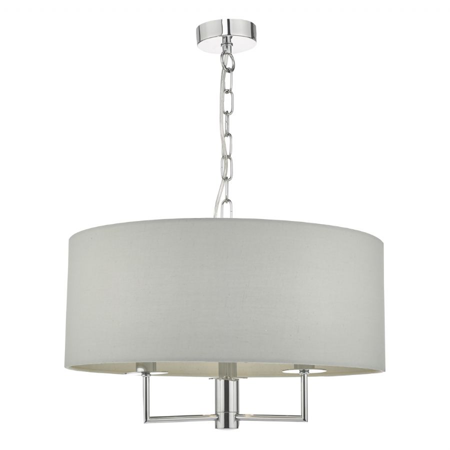 Dar Lighting Jamelia 3 light pendant JAM0339