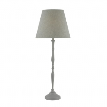Dar Lighting Joanna table lamp grey joa4239