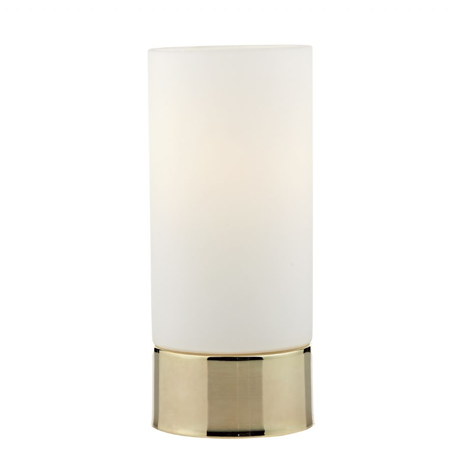 Dar Lighting Jot Touch Table Lamp Gold JOT4035