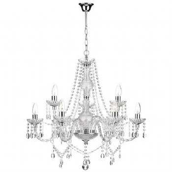 Dar Lighting Katie 9 light chandelier KAT1350