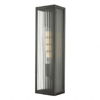 Dar Lighting Keegan Outdoor Wall Light Bronze KEE5263