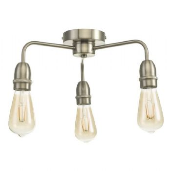 dar lighting kiefer 3 light satin chrome kie5346