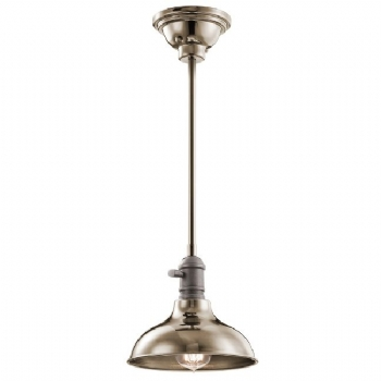Elstead Kichler Cobson mini pendant/wall light nickel KL/COBSONTRIO PN