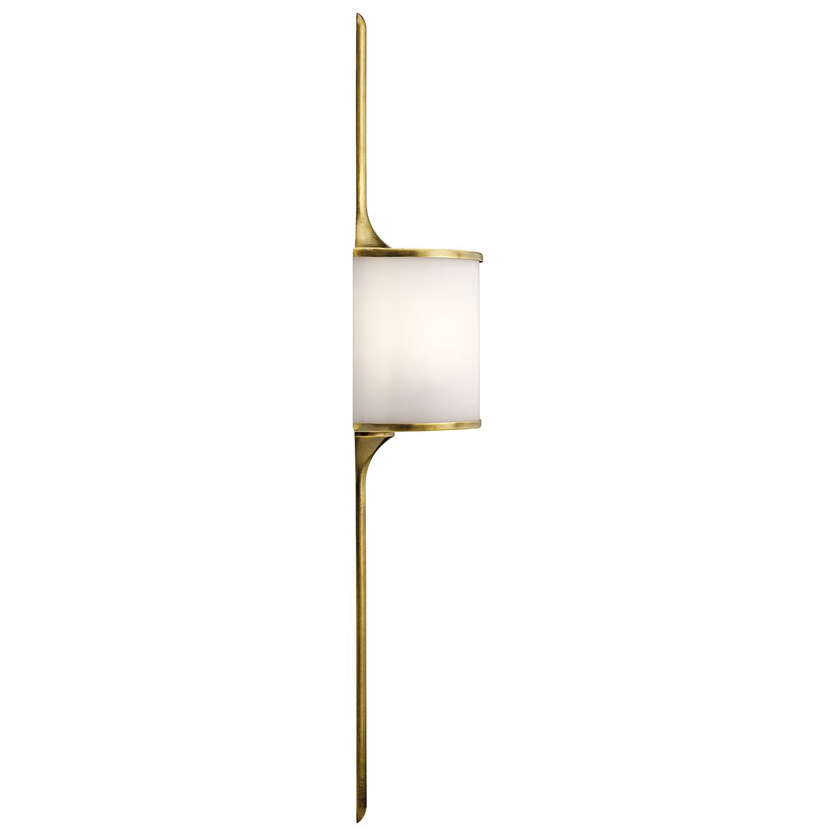 Elstead Kichler Mona wall light brass KL/MONA/L NBR