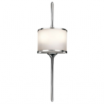 Elstead Kichler Mona small wall light chrome KL/MONA/S PC