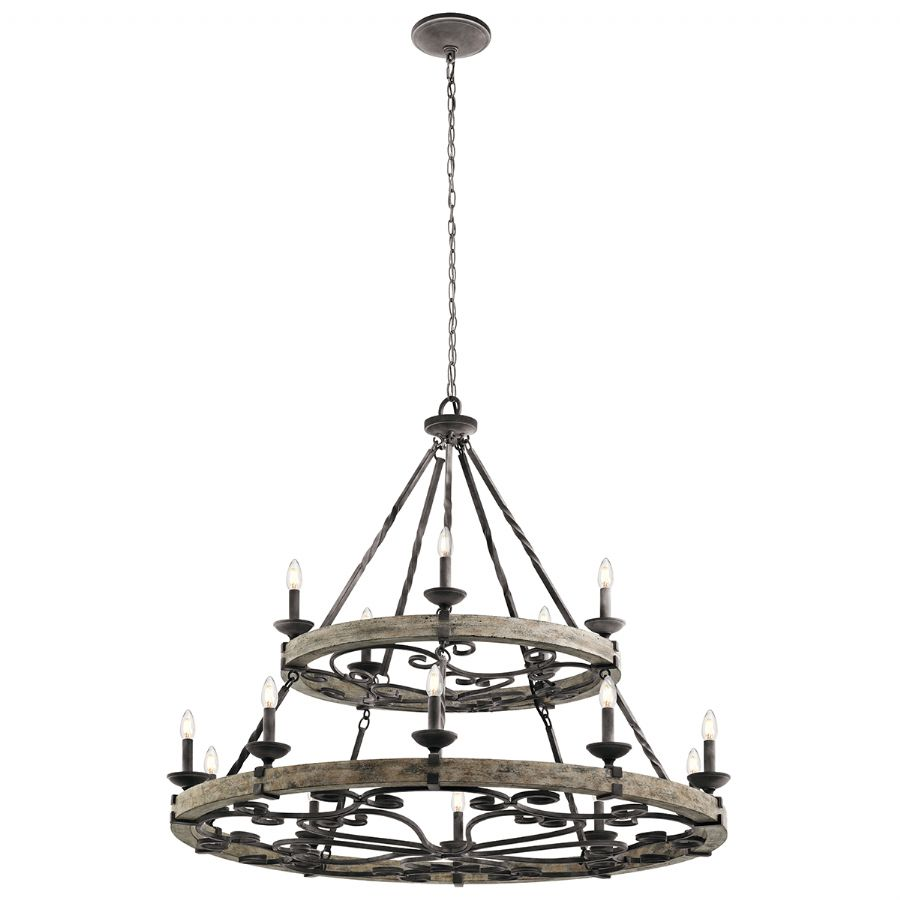 Elstead Kichler Taulbee 15 light chandelier KL/TAULBEE15