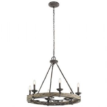 Elstead Kichler Taulbee 6 light chandelier KL/TAULBEE6
