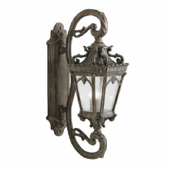 Elstead Kichler Tournai Grand wall lantern KL/TOURNAI1G/L
