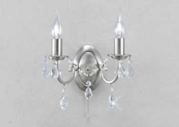 Diyas Kyra double wall light IL30972