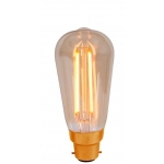 LED Vintage Cage light bulb 01461 01462