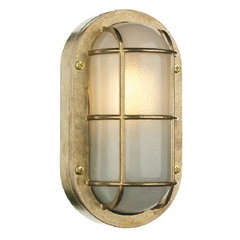 David Hunt Lighthouse wall light brass lig5240