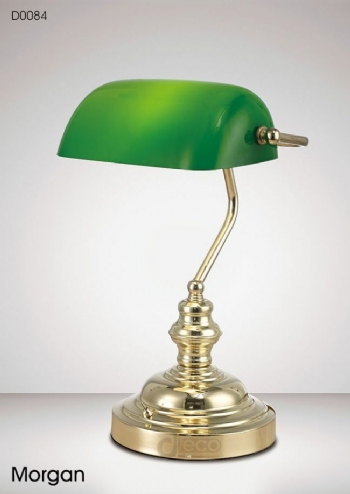 Deco Morgan Bankers Lamp D0084