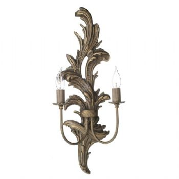 David Hunt Napoleon wall light burnt nap0929l