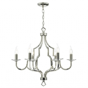 Dar Lighting Nerva 6lt pendant ner0638