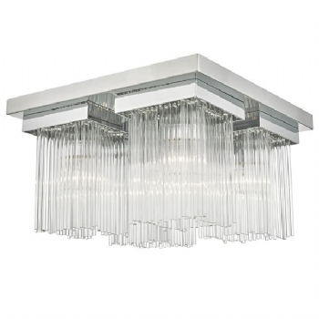 Dar Lighting Odette 4lt flush ode5250