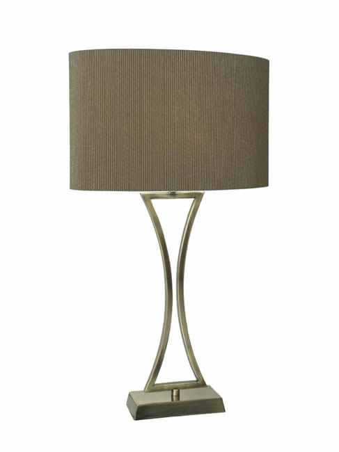 Dar Lighting Oporto table lamp OPO4150 OPO4175