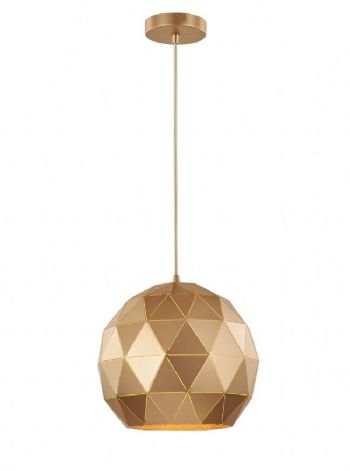 Franklite Tangent medium pendant gold pch150