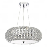 Dar Lighting Piazza 3lt pendant PIA0350