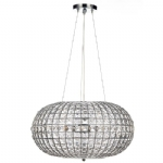 Dar Lighting Plaza 3 light crystal pendant PLA0350