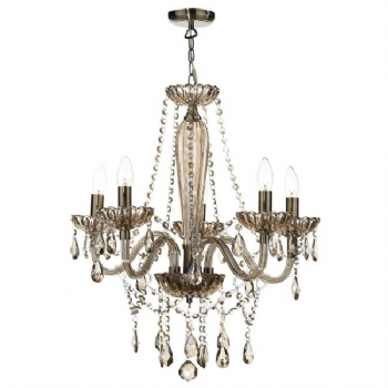 Dar Lighting Raphael 5 light chandelier RAP0506